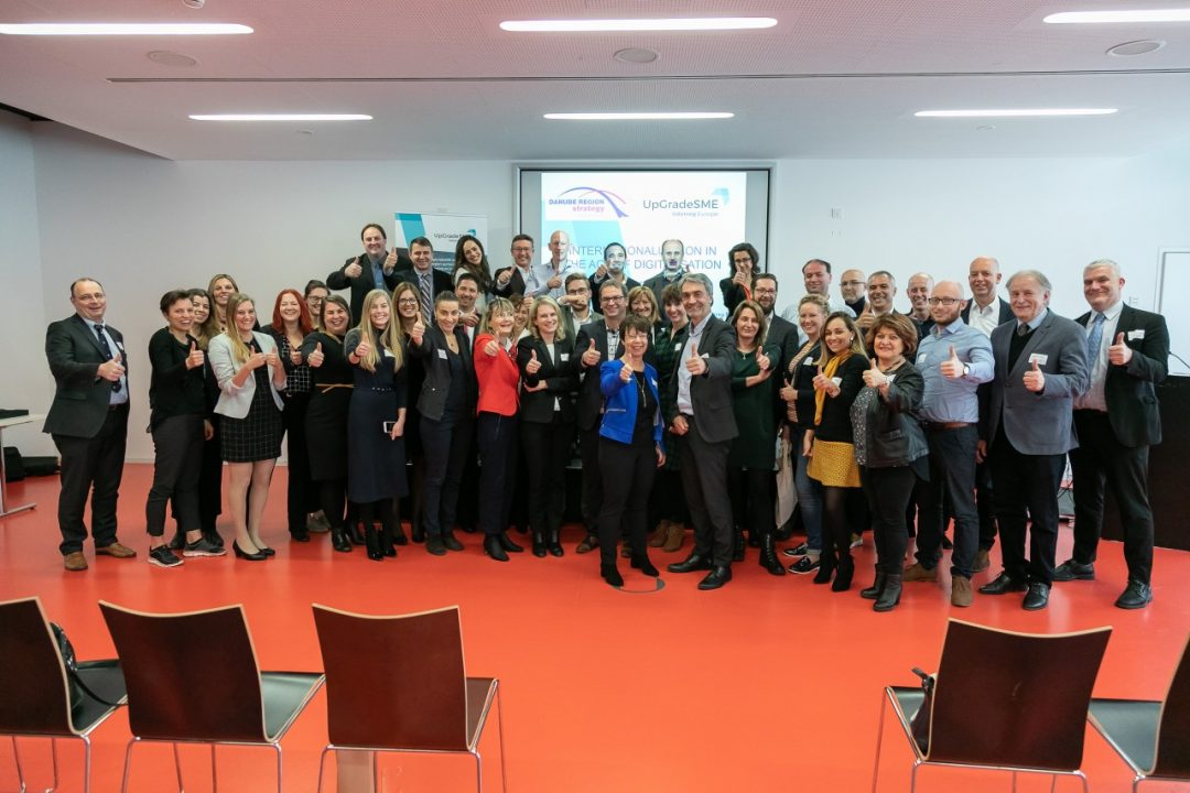 Great success at the joint event of the UpGradeSME project and the Priority Area 8 of the EU Strategy of the Danube Region