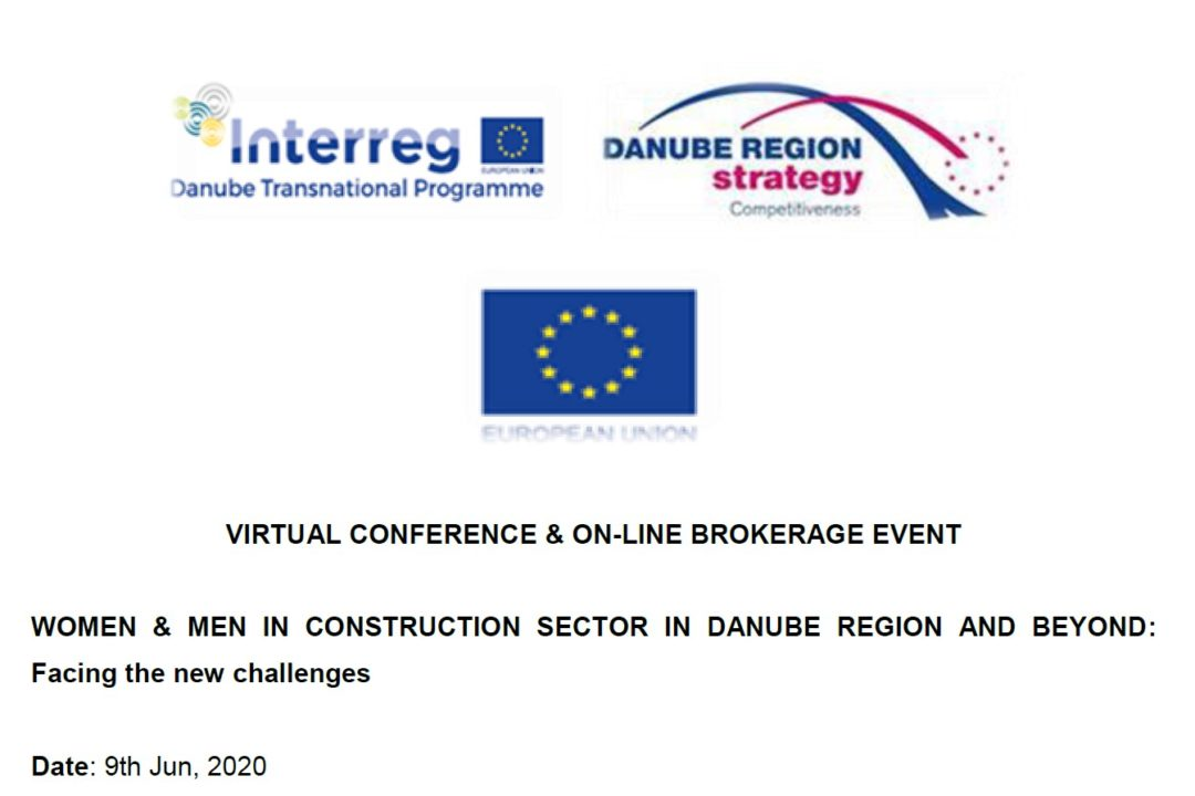 "Online Conference ""Women&Men in the Construction sector in the Danube region and beyond: Facing new challenges"""