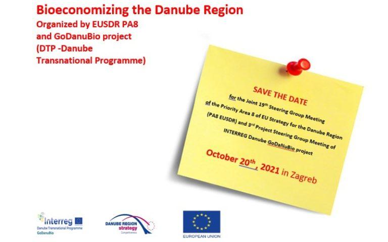 Bioeconomizing the Danube Region Organized by EUSDR PA8 and GoDanuBio project (DTP -Danube Transnational Programme)